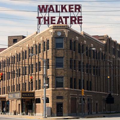 Walker Theatre exterior