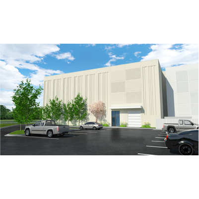Rendering of Auxiliary Library Facility - phase 3