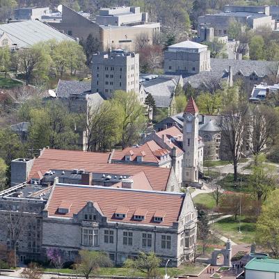IUB Campus Aerial photo