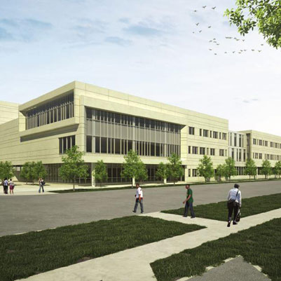 Building rendering for Arts and Sciences